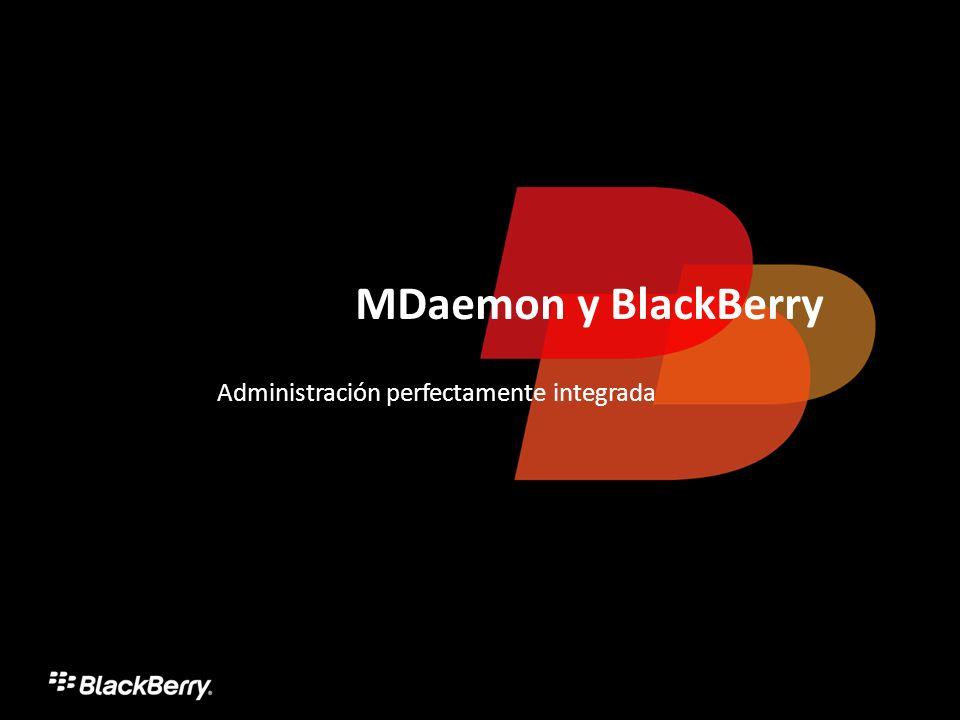 MDaemon y BlackBerry Administración perfectamente integrada