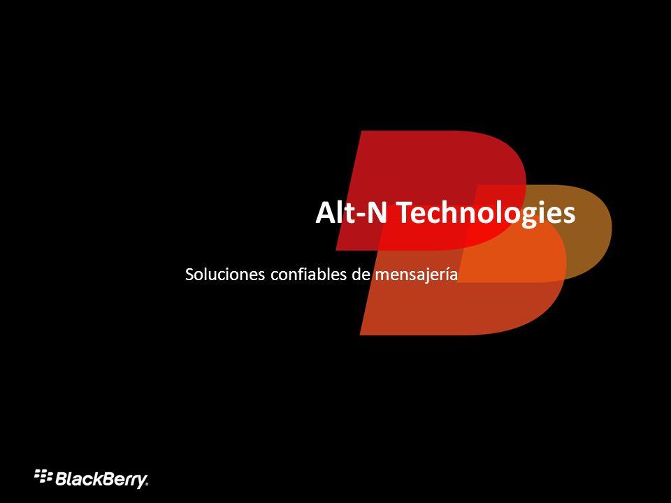 Alt-N Technologies Soluciones confiables de mensajería