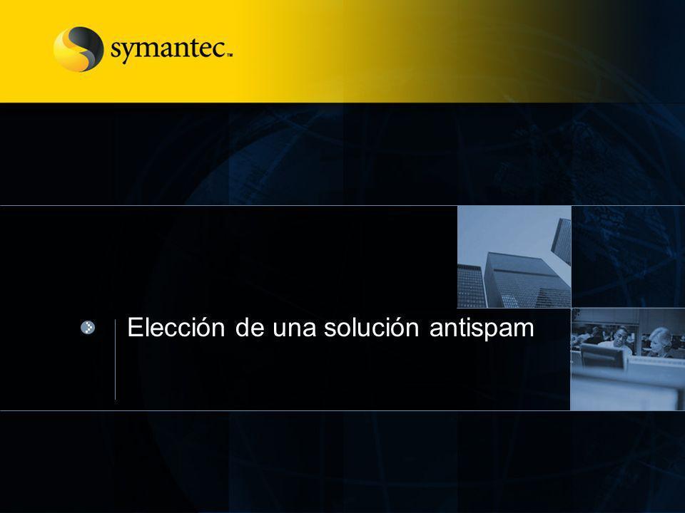 Elección de una solución antispam