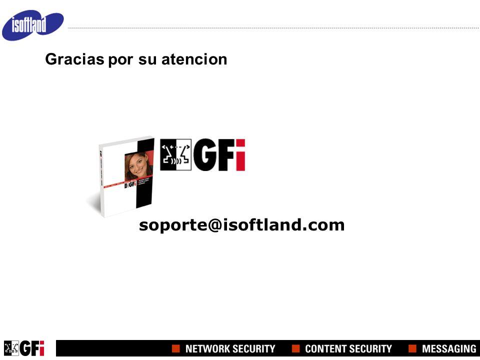 soporte@isoftland.com Gracias por su atencion