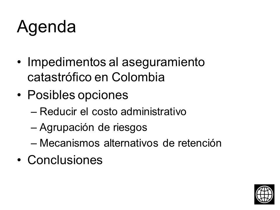 Colombia es uno de los países más expuestos a riesgos catastróficos