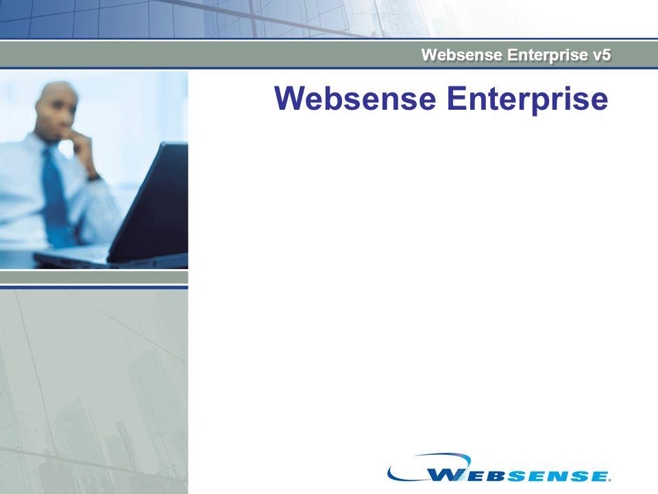 Websense Enterprise v5 Websense Enterprise