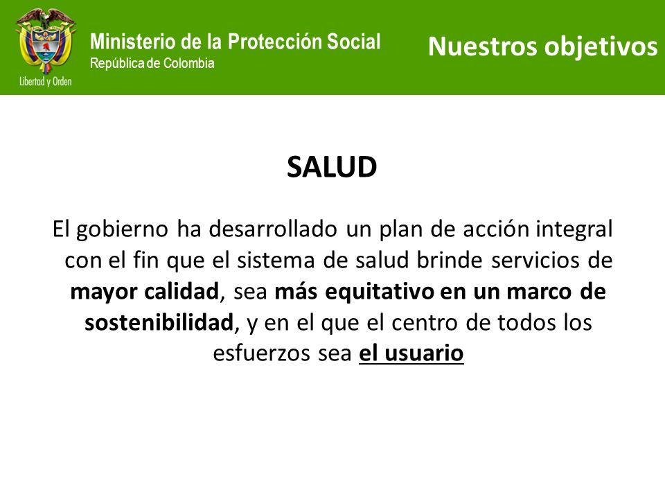 Ministerio de la Protección Social República de Colombia Afiliación Sistema General de Pensiones Fuente: DANE, SUPERFINANCIERA 28 El número de afiliados al sistema ha venido creciendo, tanto en el RPM como en el RAIS
