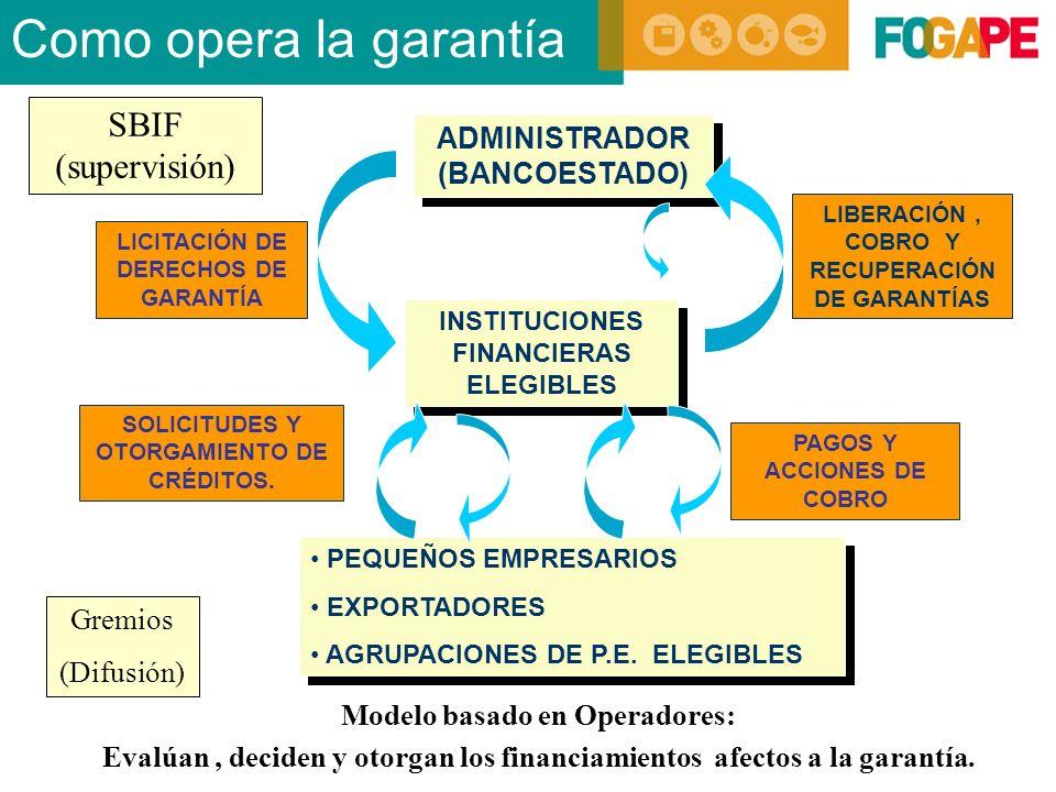 SOLICITUDES Y OTORGAMIENTO DE CRÉDITOS.