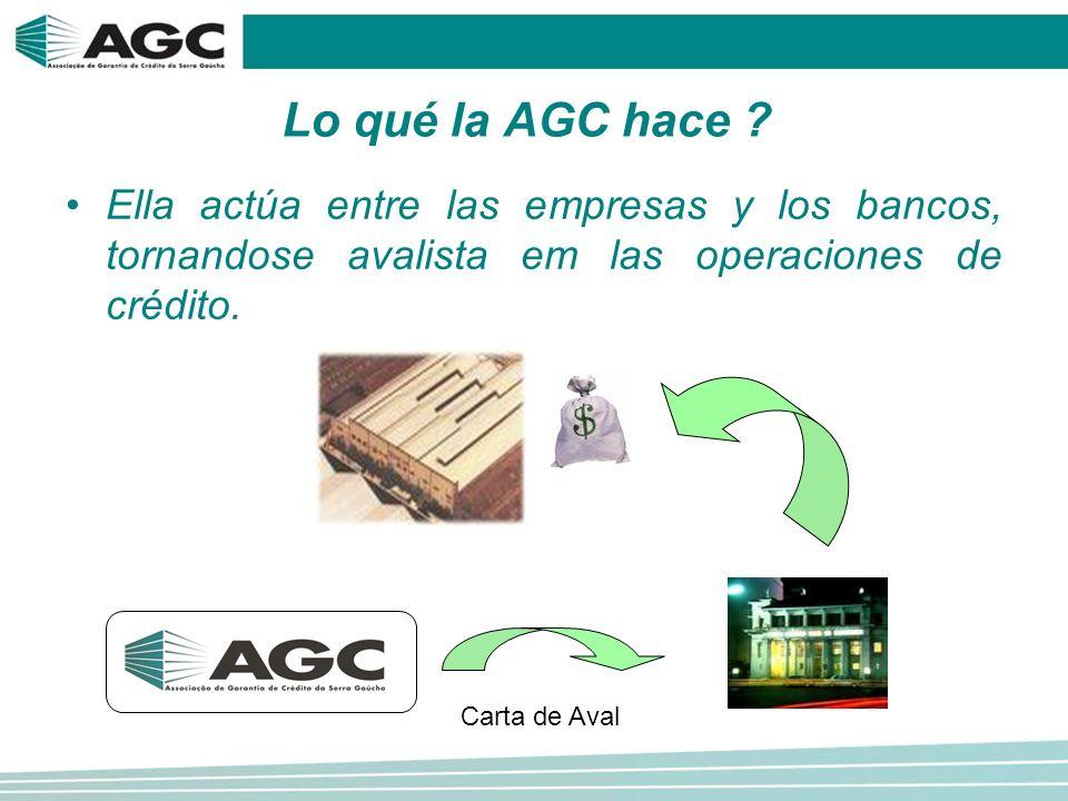 Lo qué la AGC hace .
