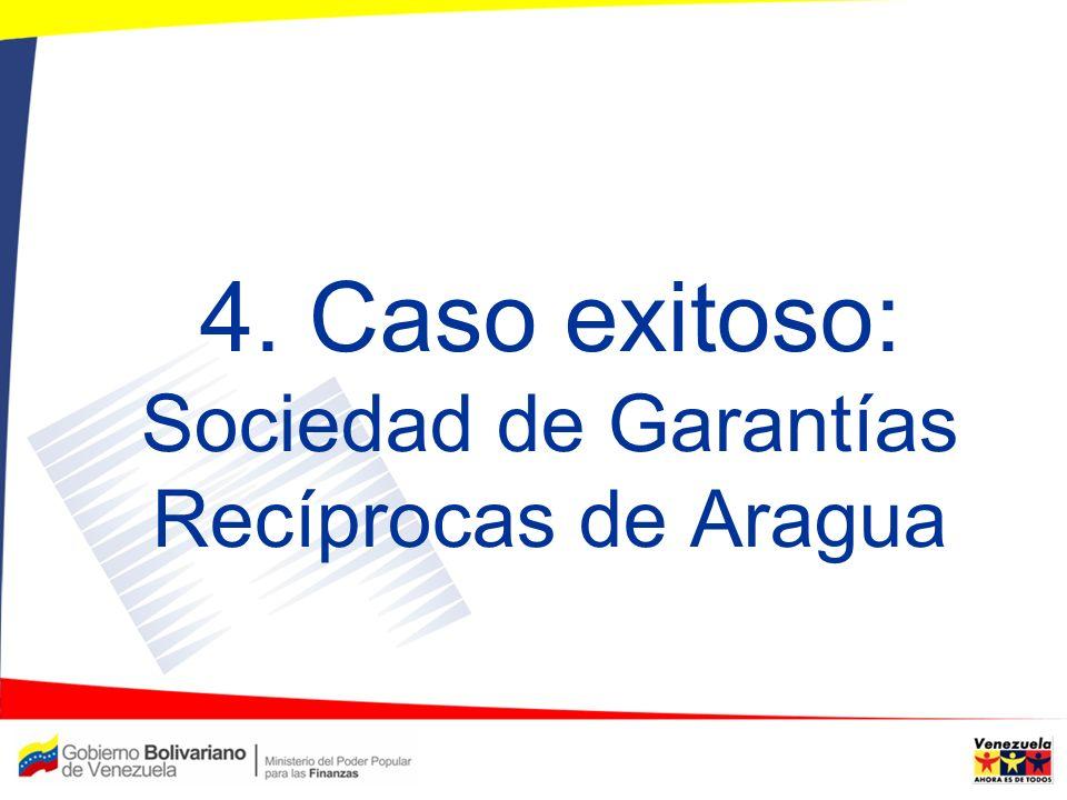 4. Caso exitoso: Sociedad de Garantías Recíprocas de Aragua