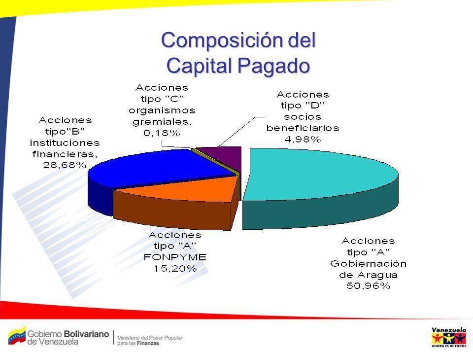 Composición del Capital Pagado