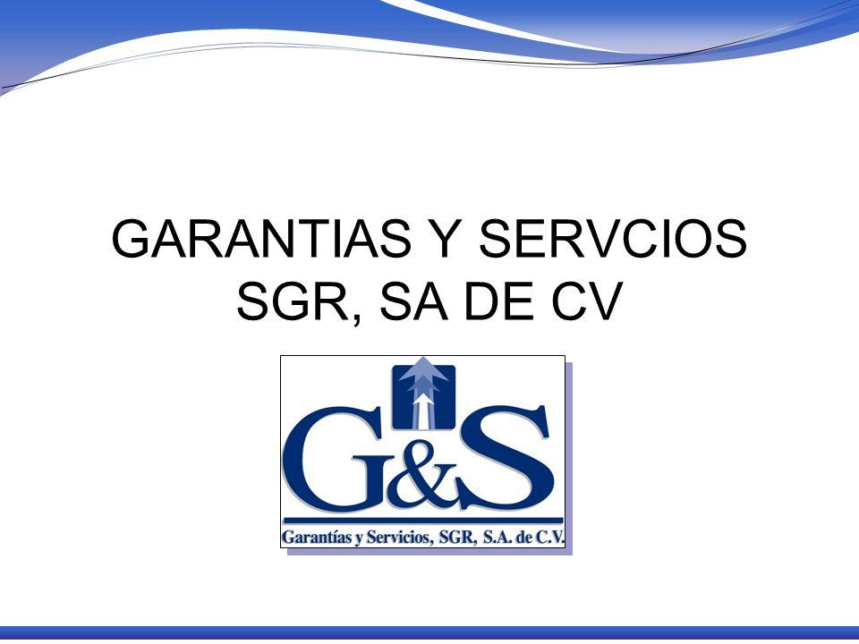 GARANTIAS Y SERVCIOS SGR, SA DE CV