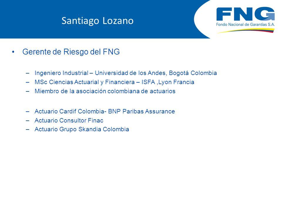 Agenda Impacto de la crisis en Colombia Efectos de la crisis en la financiación de Mipymes Efectos de la crisis sobre el FNG Estrategias adoptadas por el FNG Conclusiones