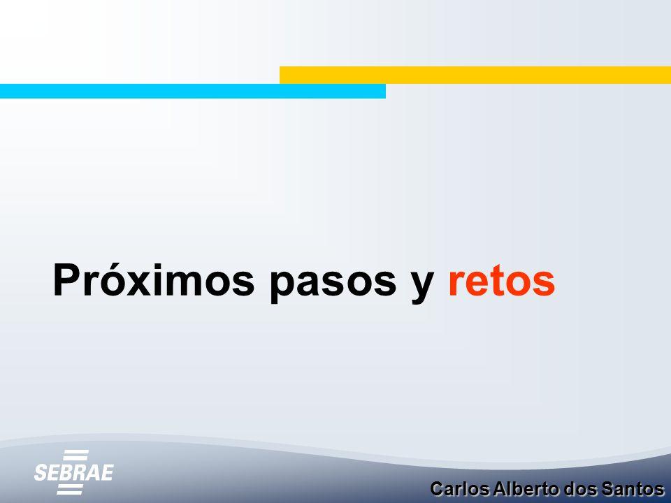 Próximos pasos y retos Carlos Alberto dos Santos
