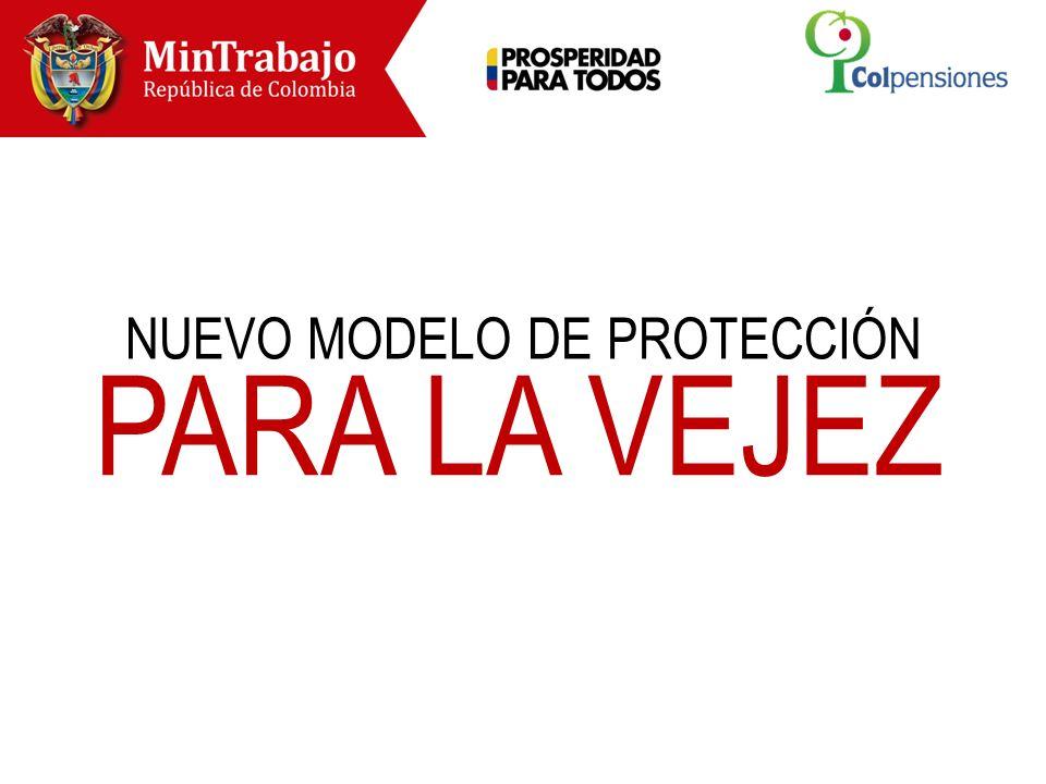 NUEVO MODELO DE PROTECCIÓN PARA LA VEJEZ