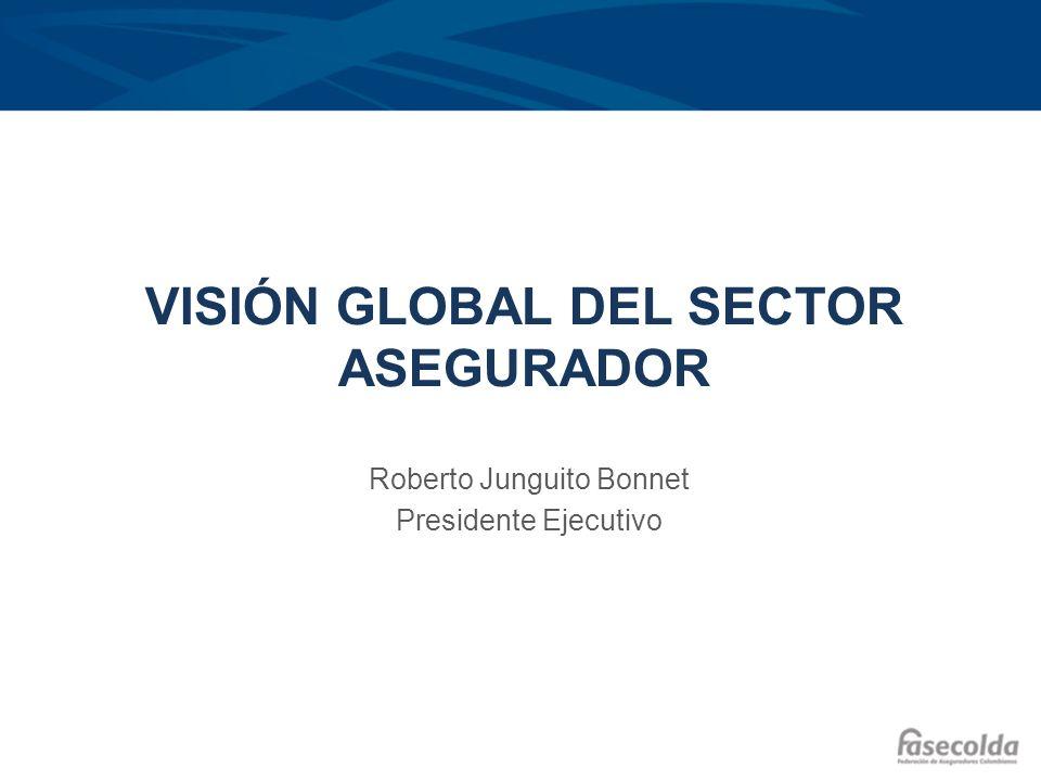 VISIÓN GLOBAL DEL SECTOR ASEGURADOR Roberto Junguito Bonnet Presidente Ejecutivo