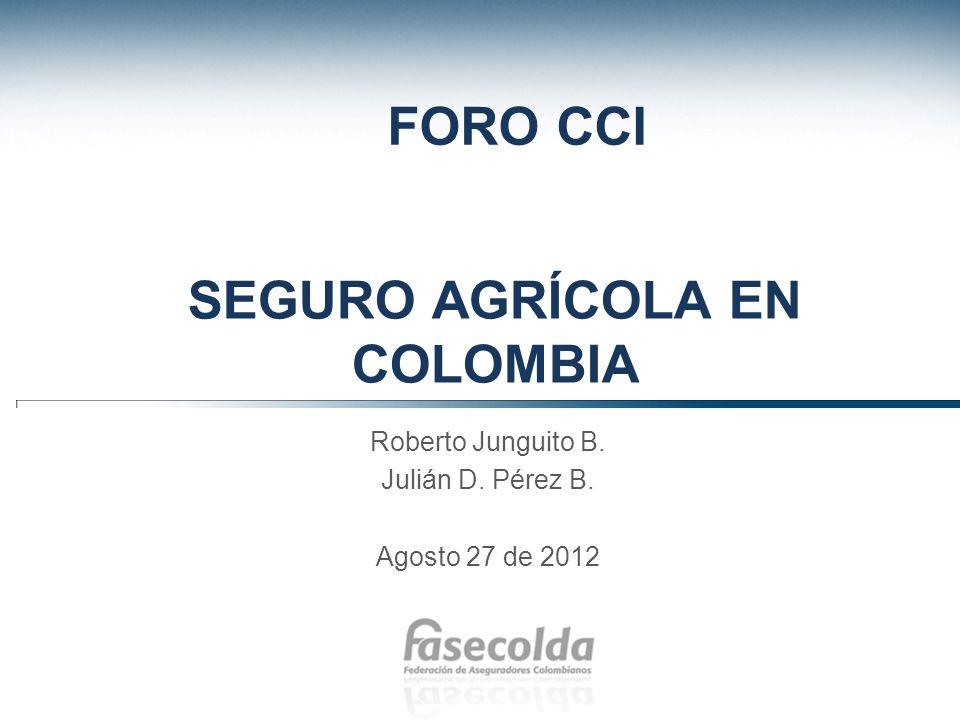 Contenido 1.El sector agropecuario y su importancia en la economía colombiana.