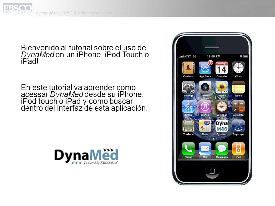 Al seleccionar un término, lo va a llevar a la página con la información de DynaMed sobre esta término.