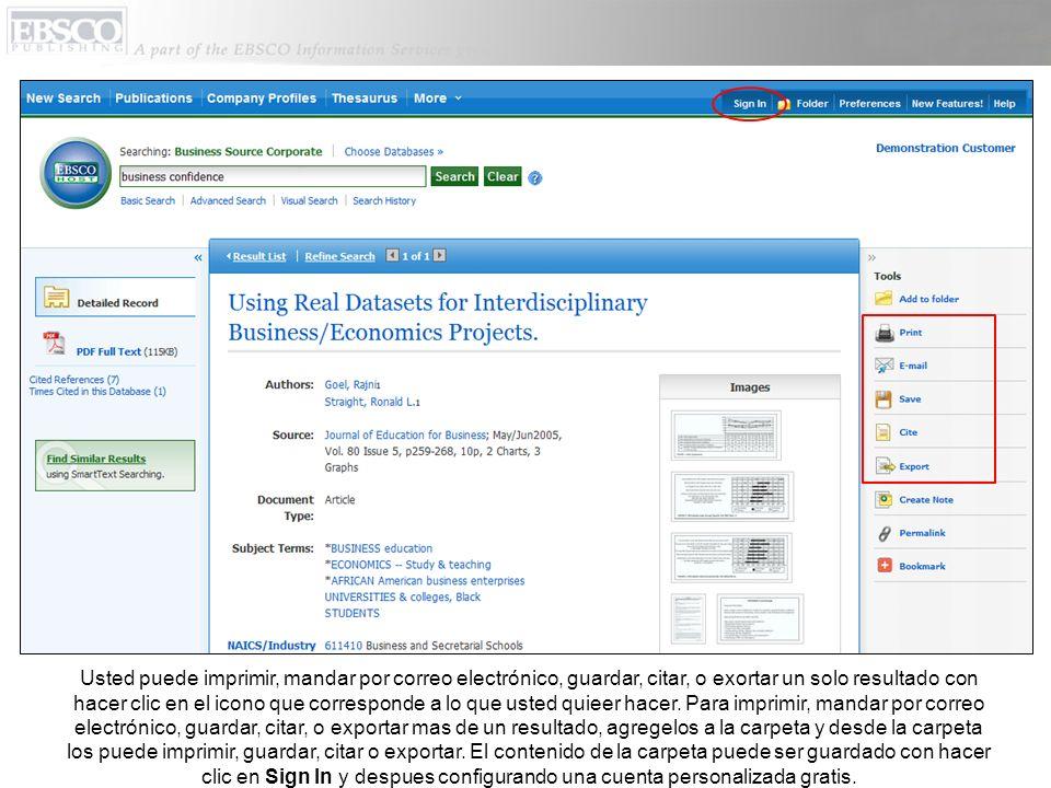 El link que dice Company Profiles (Perfiles de Empresas) da acesso a miles de reportes de Datamonitor en el formato de PDF (Portable Document Format).