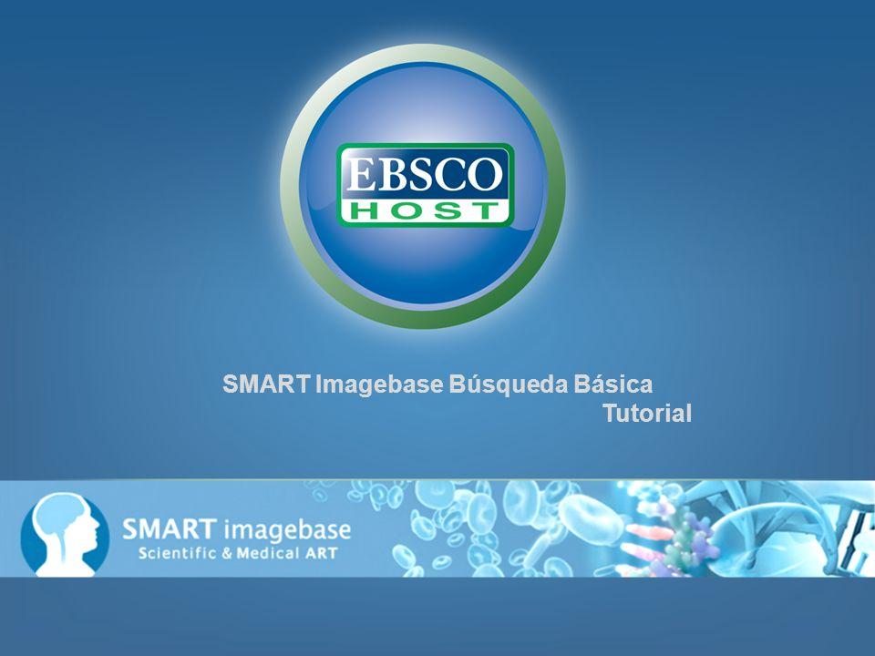 Bienvenido al tutorial de EBSCOhost sobre SMART Imagebase Búsqueda Básica.