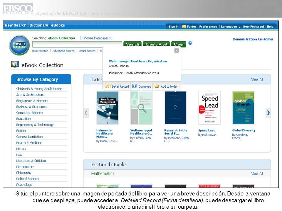 Iniciando una Búsqueda Báscia sobre business. Escriba su término de búsqueda y haga clic en Search.