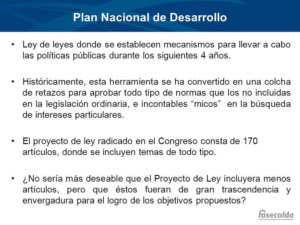 Plan Nacional de Desarrollo Ley de leyes donde se establecen mecanismos para llevar a cabo las políticas públicas durante los siguientes 4 años.