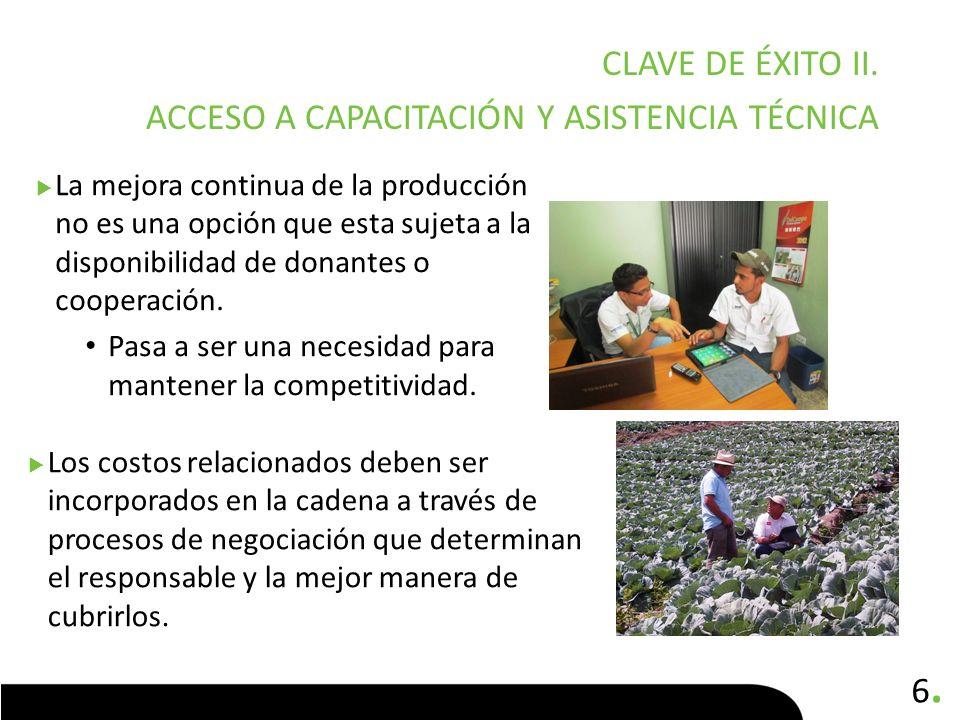 7.7.CLAVE DE ÉXITO III.