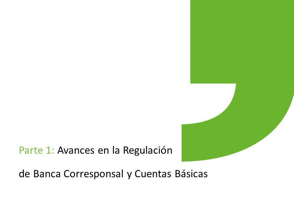Parte 1: Avances en la Regulación de Banca Corresponsal y Cuentas Básicas