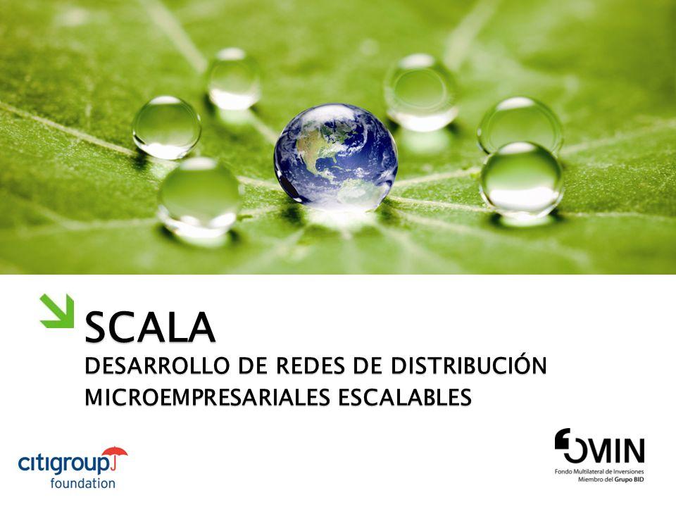 SCALA DESARROLLO DE REDES DE DISTRIBUCIÓN MICROEMPRESARIALES ESCALABLES