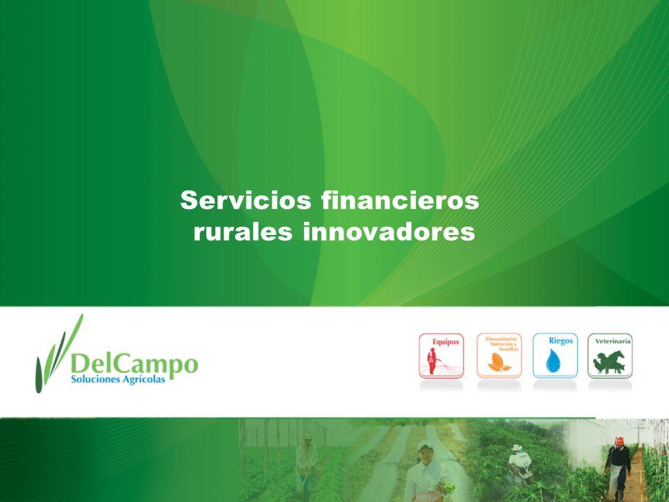 Servicios financieros rurales innovadores