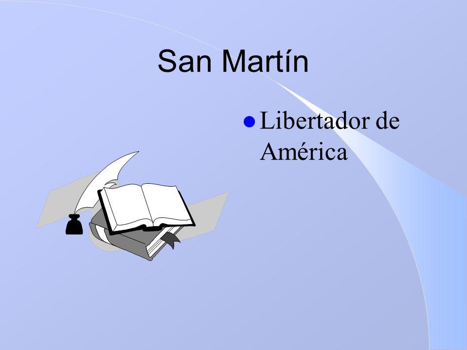 San Martín l Libertador de América