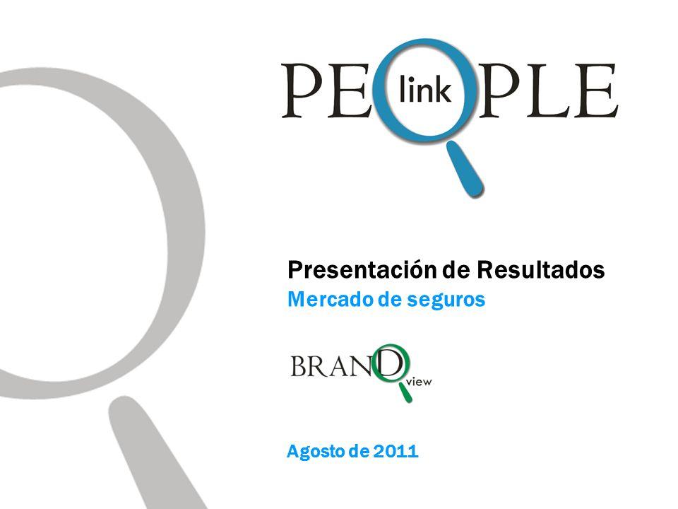 Presentación de Resultados Mercado de seguros Agosto de 2011