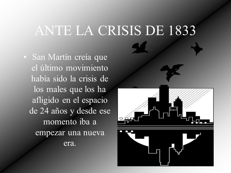 POR LA SOBERANÍA DEL PAÍS San Martín no aprobaba la conducta de Rosas y dijo: Yo no aprobaré jamás el que ningún hijo del país se una a una nación extranjera para humillar a su patria.