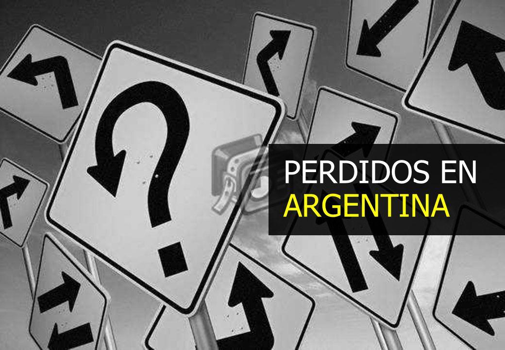 PERDIDOS EN ARGENTINA