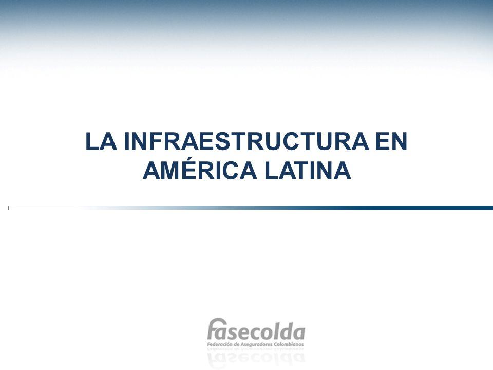 LA INFRAESTRUCTURA EN AMÉRICA LATINA