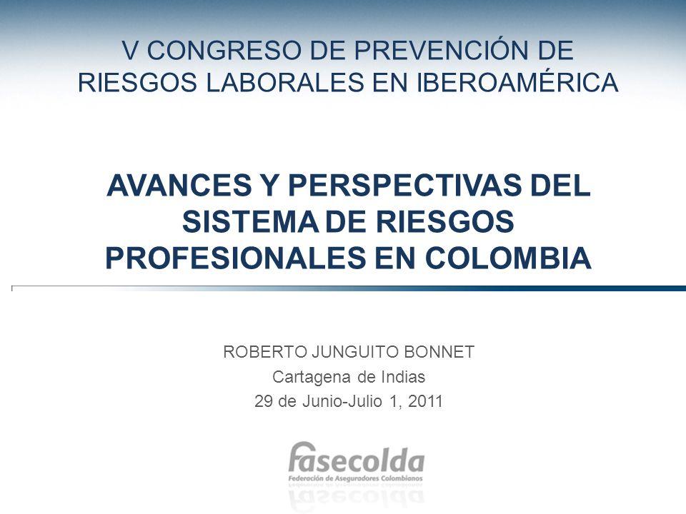 El Congreso de Prevención de Riesgos Laborales en América Latina El Congreso de Prevención de Riesgos Laborales en América Latina tiene lugar este año en Cartagena.
