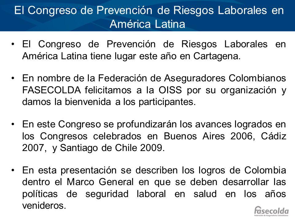 Los Riesgos Profesionales en Colombia