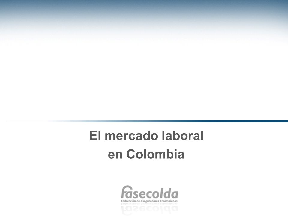Los problemas del mercado laboral y la informalidad En Colombia se comparte la preocupación en el sentido que el mercado laboral adolece de problemas como la desigualdad y la falta de demanda.