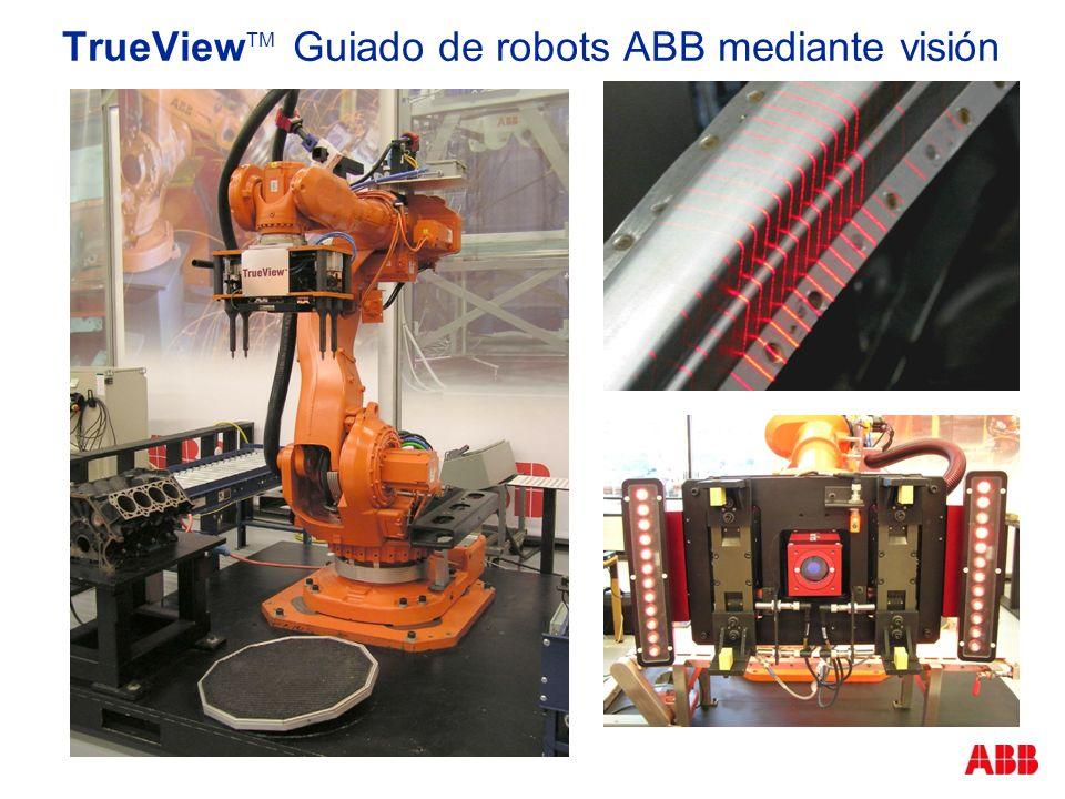 TrueView TM Guiado de robots ABB mediante visión