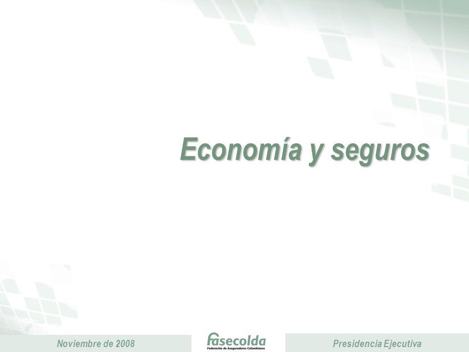 Presidencia Ejecutiva Noviembre de 2008 Presidencia Ejecutiva Fuente.