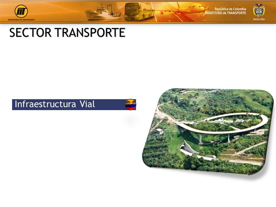 La red de transporte se concentra en las zonas más pobladas.