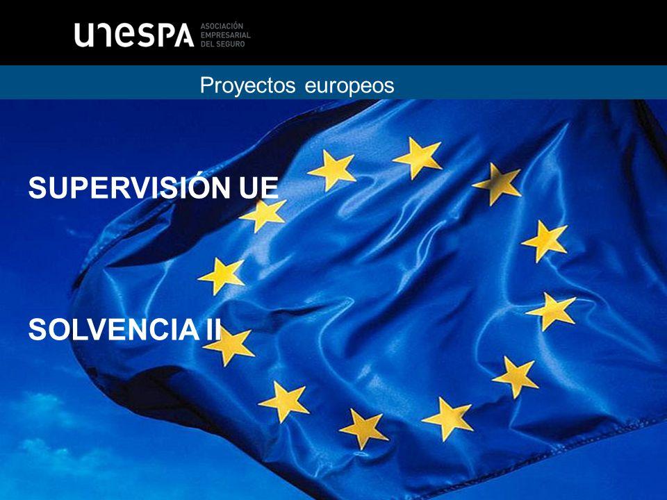 Proyectos europeos SUPERVISIÓN UE SOLVENCIA II