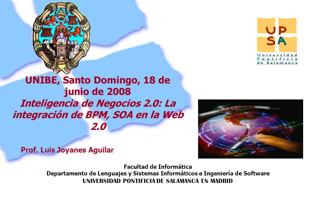 Facultad de Informática Departamento de Lenguajes y Sistemas Informáticos e Ingeniería de Software UNIVERSIDAD PONTIFICIA DE SALAMANCA EN MADRID 1 Pro