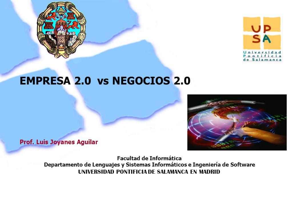 Facultad de Informática Departamento de Lenguajes y Sistemas Informáticos e Ingeniería de Software UNIVERSIDAD PONTIFICIA DE SALAMANCA EN MADRID 119 P