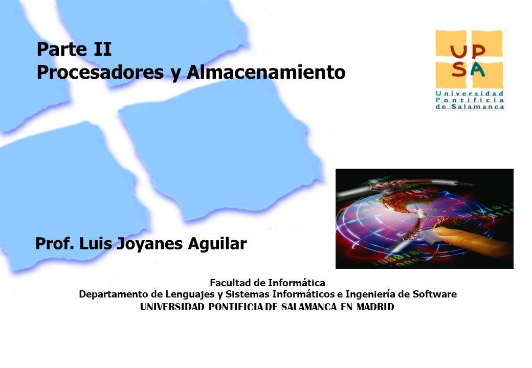 Facultad de Informática Departamento de Lenguajes y Sistemas Informáticos e Ingeniería de Software UNIVERSIDAD PONTIFICIA DE SALAMANCA EN MADRID 27 Pa