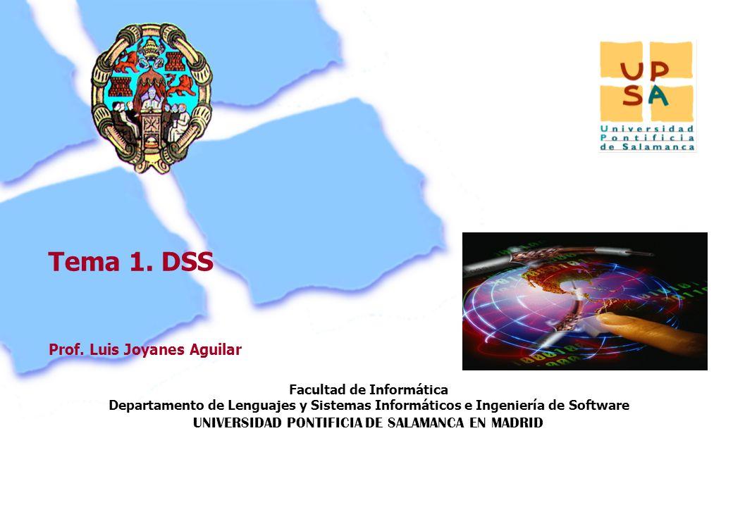 Facultad de Informática Departamento de Lenguajes y Sistemas Informáticos e Ingeniería de Software UNIVERSIDAD PONTIFICIA DE SALAMANCA EN MADRID 37 Pr
