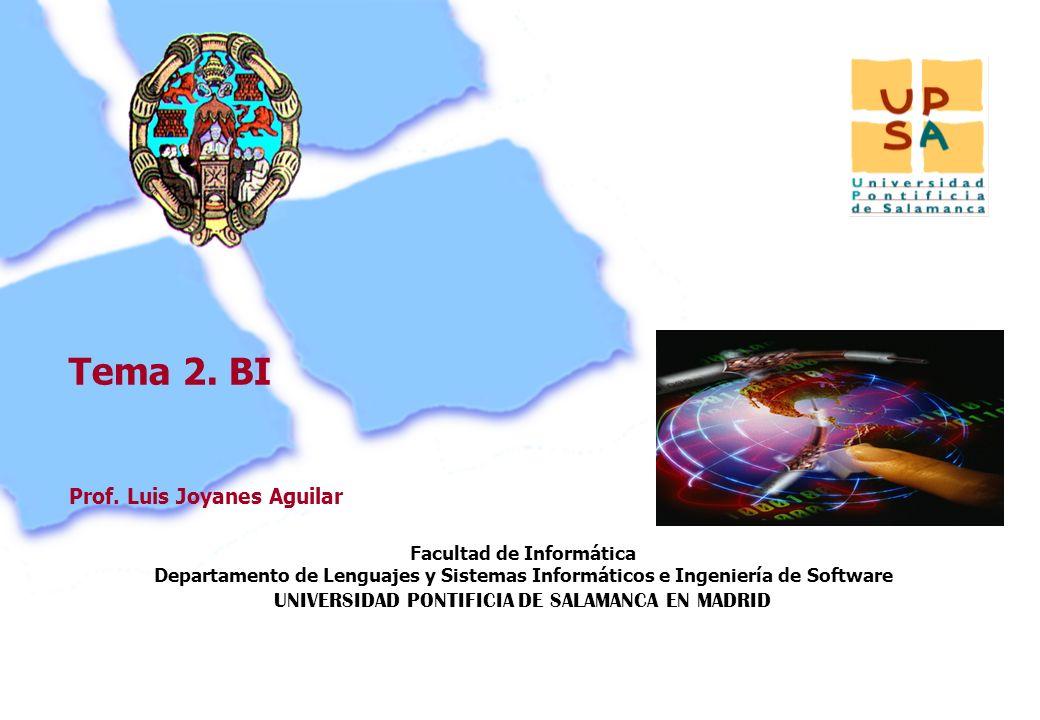 Facultad de Informática Departamento de Lenguajes y Sistemas Informáticos e Ingeniería de Software UNIVERSIDAD PONTIFICIA DE SALAMANCA EN MADRID 59 Pr