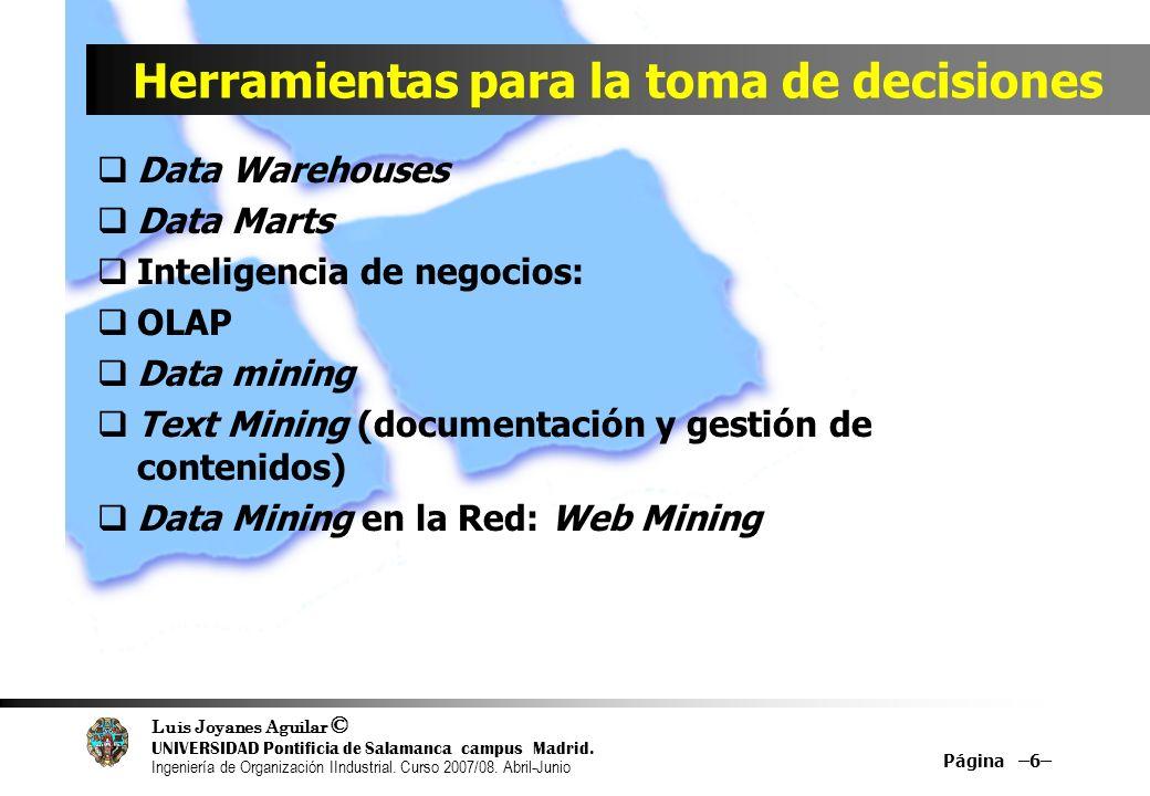 Facultad de Informática Departamento de Lenguajes y Sistemas Informáticos e Ingeniería de Software UNIVERSIDAD PONTIFICIA DE SALAMANCA EN MADRID 37 Prof.