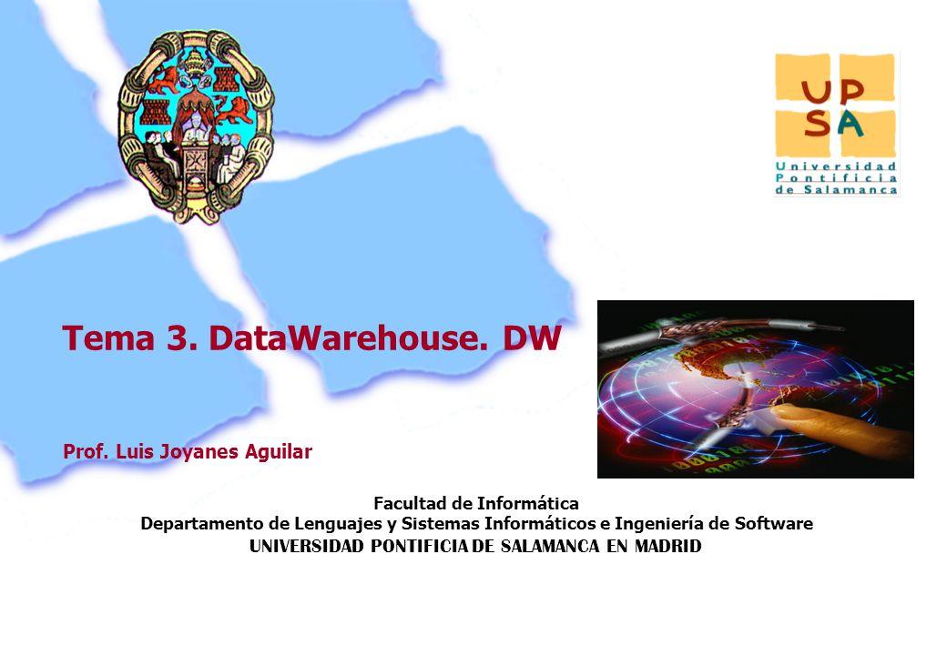 Facultad de Informática Departamento de Lenguajes y Sistemas Informáticos e Ingeniería de Software UNIVERSIDAD PONTIFICIA DE SALAMANCA EN MADRID 69 Pr