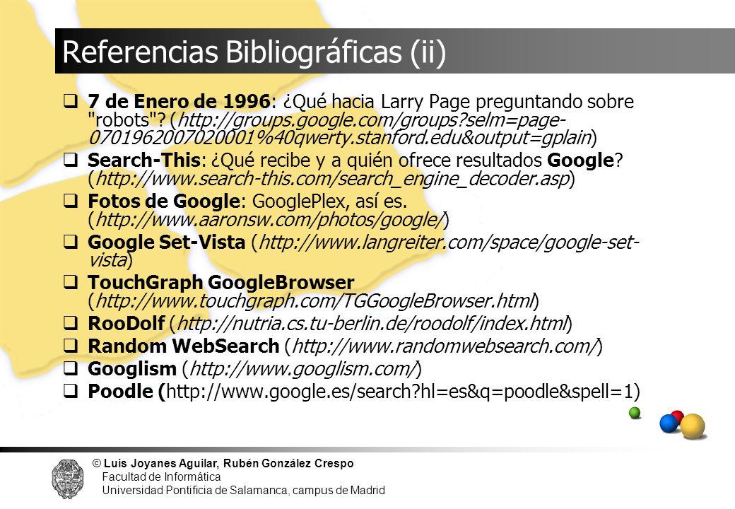 © Luis Joyanes Aguilar, Rubén González Crespo Facultad de Informática Universidad Pontificia de Salamanca, campus de Madrid 7 de Enero de 1996: ¿Qué h