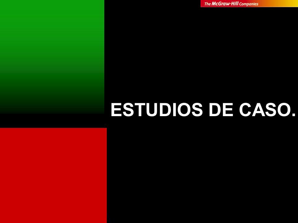 ESTUDIOS DE CASO.
