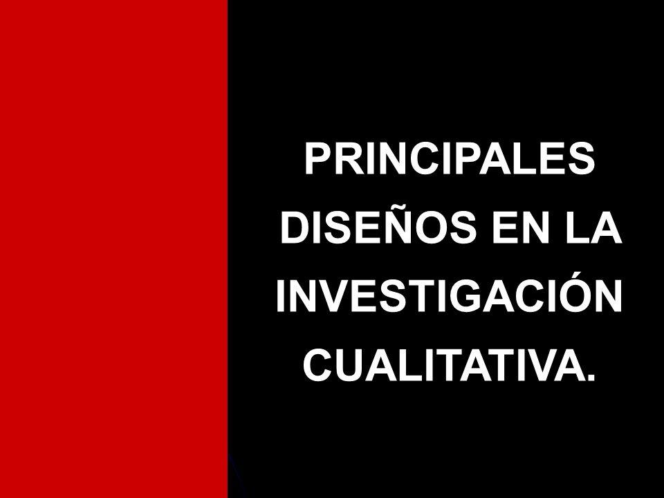 EL DISEÑO CUALITATIVO I.