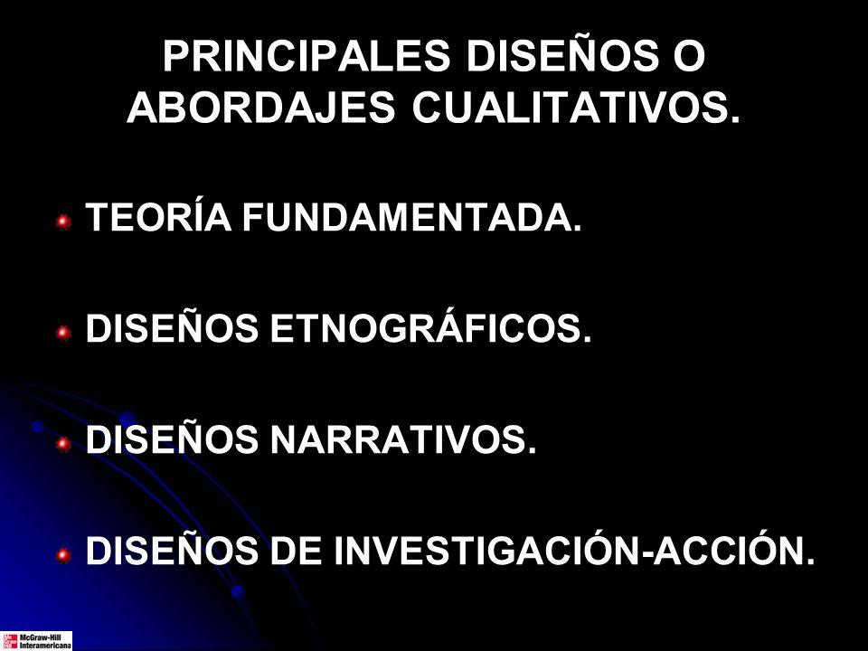 : LOS DISEÑOS NARRATIVOS PUEDEN REFERIRSE A: TODA LA HISTORIA DE VIDA DE UN INDIVIDUO O GRUPO.