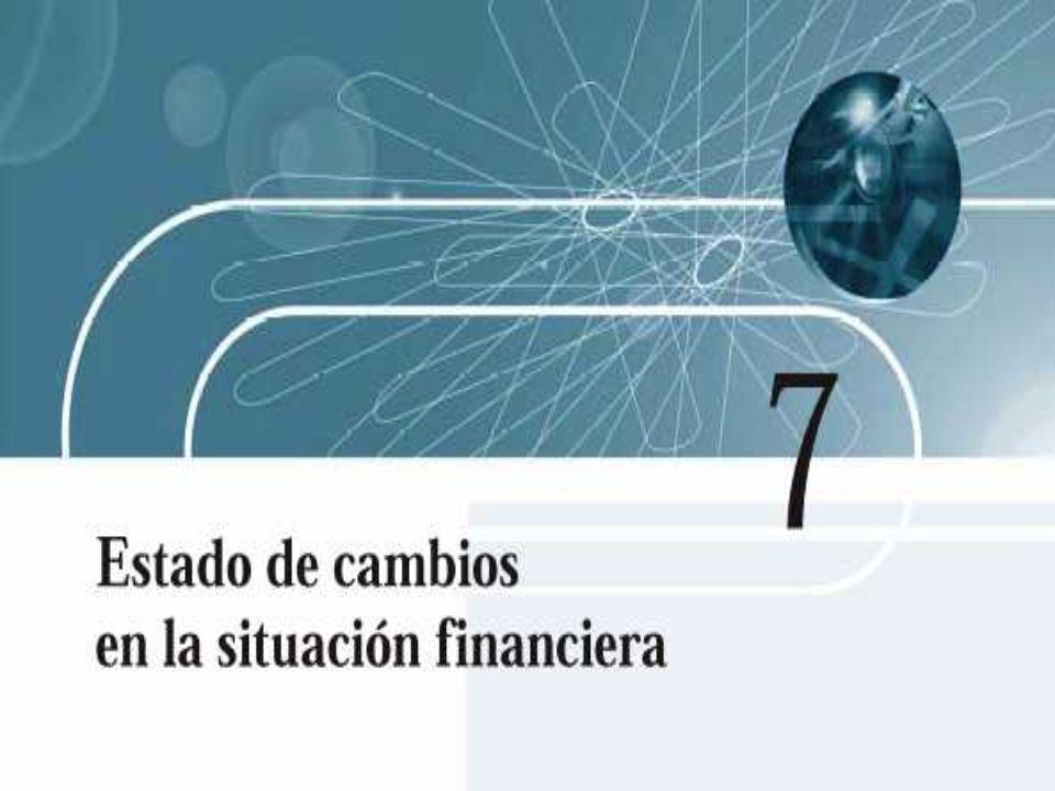 Paso 5: Integrar con dicha información el estado de cambios en la situación financiera, mismo que se muestra en la figura 7.7.